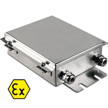 JBQAI robbanásbiztos közösítő doboz